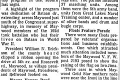 Bataan Day 1954