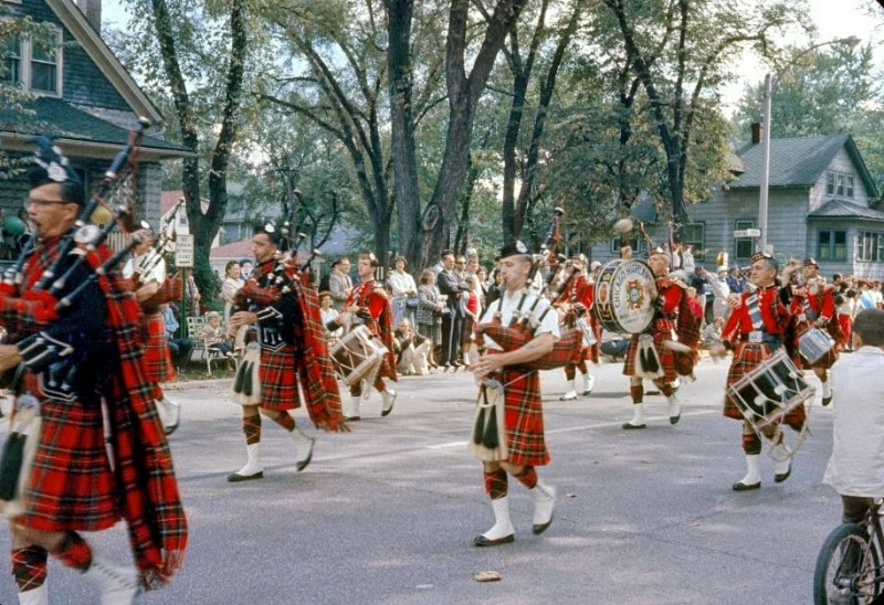 Chicago Highlanders Drum and Bugle Corps