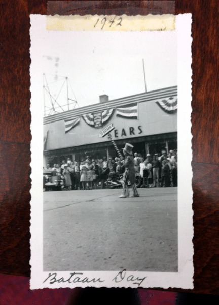 1942 Bataan Day Polaroid