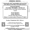 You're Invited to the 70th Maywood Bataan Day