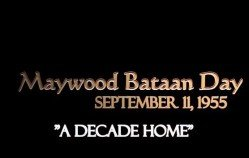 Maywood Bataan Day 1955
