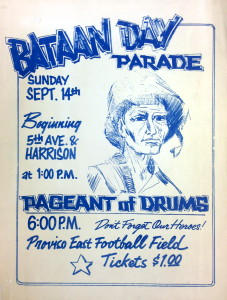 1970s Bataan Poster. (Gift of Mr. Jesse Jones)