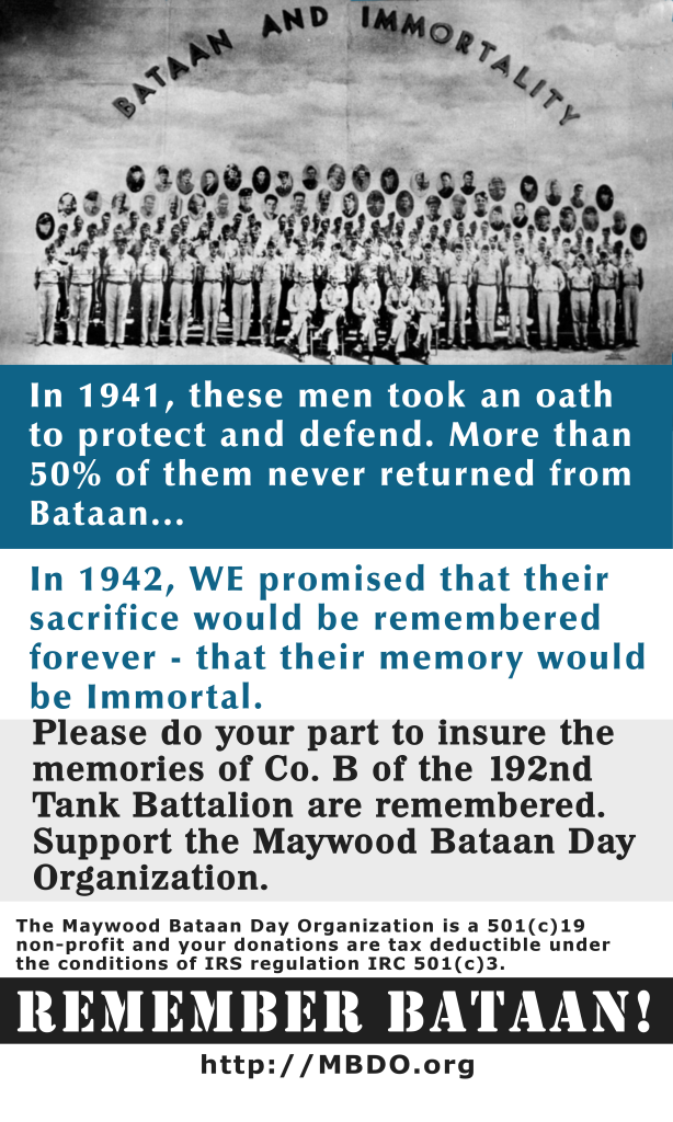 Support Maywood Bataan Day - Donate
