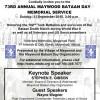 Maywood Bataan Day 2015