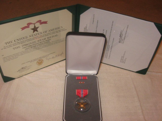 Morin Bronze Star