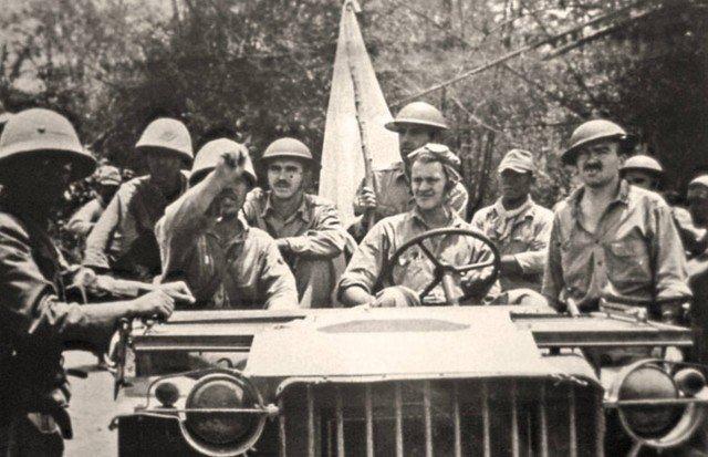 Gen. King surrenders